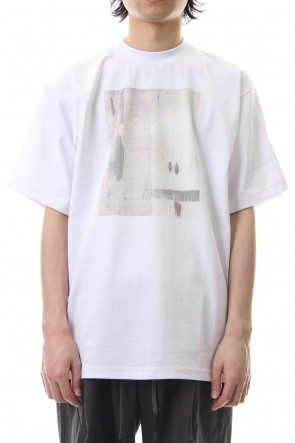 CLANE HOMME 19SS ART T/S White
