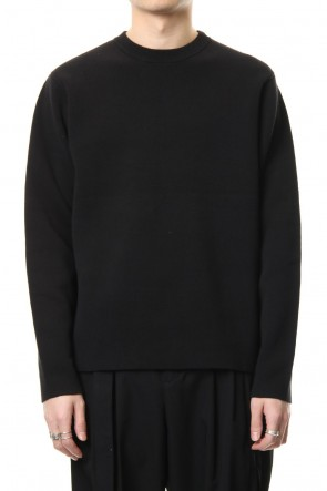 CLANE HOMME 19SS BASIC BOX KNIT TOPS Black