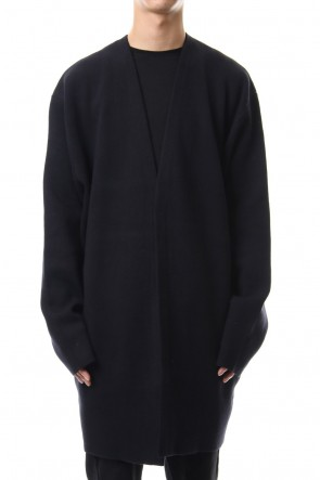 CLANE HOMME 19-20AW V NECK OVER KNIT CD