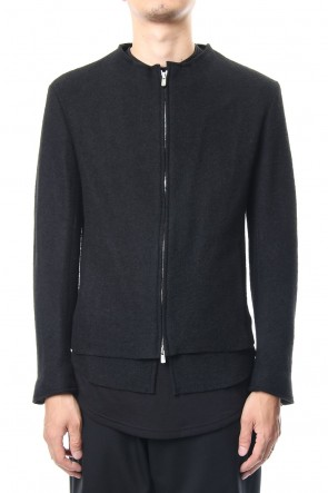 ASKyy 18-19AW Removable Riders Jacket - black