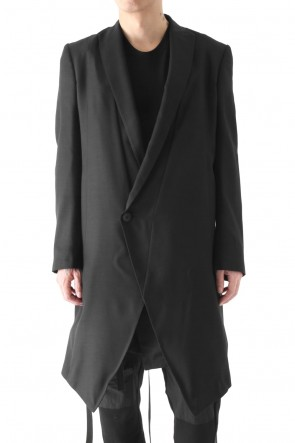 HARNESS LONG TAILORED JACKET - JULIUS