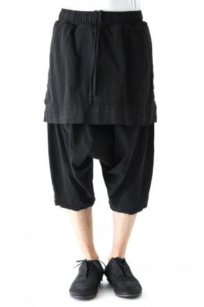 JULIUS 18PF Attaached Skirt Crotch Pants