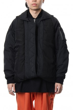 JULIUS 18-19AW W Bomber Jacket