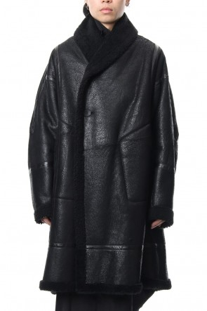 JULIUS 18-19AW Mouton Gown Coat