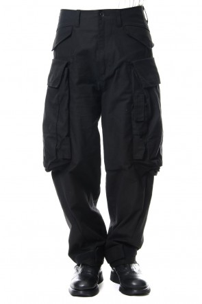 JULIUS 18-19AW Buggy Cargo Pants