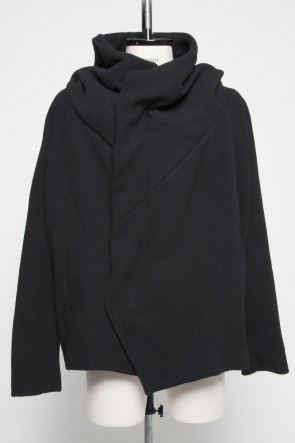 JULIUS 19PS GEOMETRIC HOODED JACKET