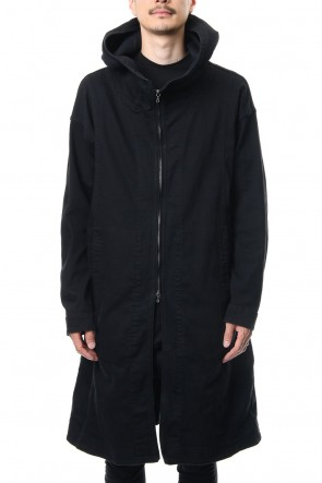 JULIUS 19PS SEAMED MODS COAT