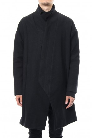 JULIUS 19PS HIGH NECK CLASSIC COAT