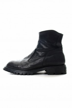 JULIUS 19PF SLASH ZIP ENGINEER BOOTS