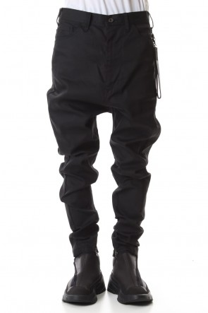 JULIUS 19-20AW CROTCH PANTS whith KEY STRAP