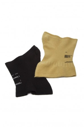JULIUS 19-20AW MASKED NECK WARMER