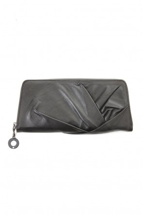 JULIUS 20SS LEATHER TWIST WALLET