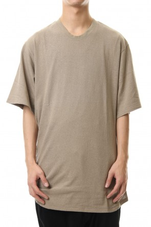 JULIUS 20SS Shirring S/S cut & sewn Sand