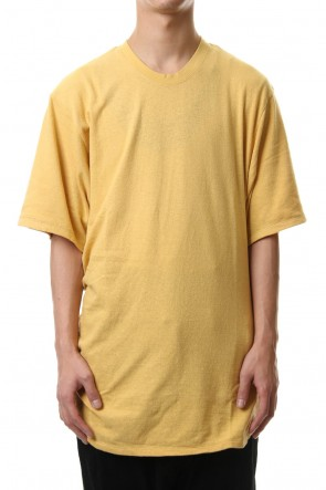 JULIUS 20SS Shirring S/S cut & sewn Yellow
