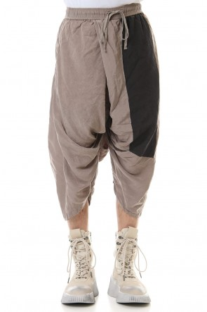 JULIUS 20SS PT Wide cropped pants