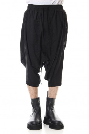 JULIUS 20SS Saruel shorts Black