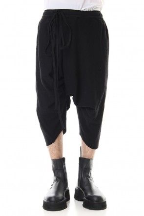 JULIUS 20SS Saruel pants Black