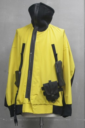NILøS 20SS High-neck blouson Yellow