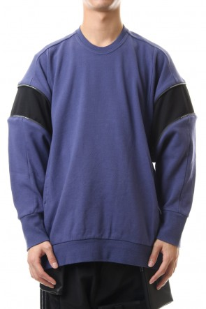 NILøS 20SS Flexibility sleeve cut&sewn Purple