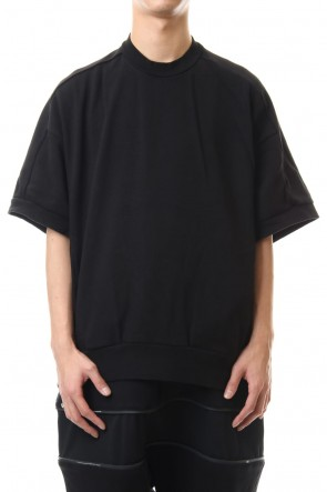 NILøS 20SS Big sleeve cut&sewn Black