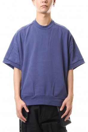NILøS 20SS Big sleeve cut&sewn Purple