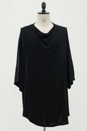 JULIUS 20PF DRAPED COLLAR OVERSIZED T-SHIRT