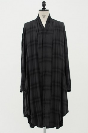 JULIUS 20PF FLANNEL GOWN SHIRT
