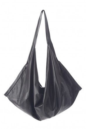 JULIUS 20-21AW LARGE LEATHER SACOCHE BAG
