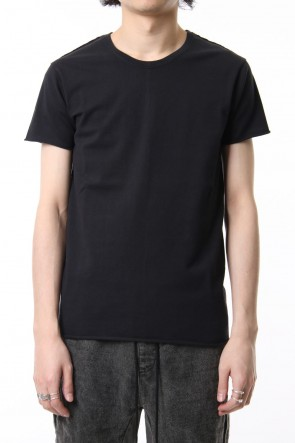 wjk 19SS crew neck short sleeve standard black