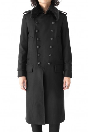 GalaabenD 17-18AW T/W MILITARY KERSEY COAT