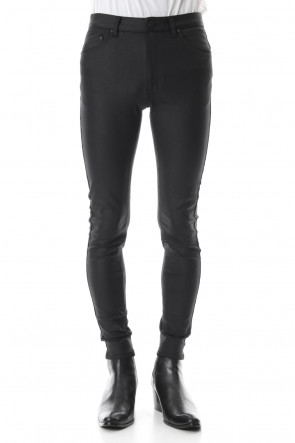 GalaabenD19-20AWLeather-like high tension stretch leggings pants
