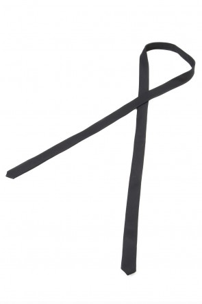 GalaabenD 19-20AW Tuxedo cross stretch narrow tie