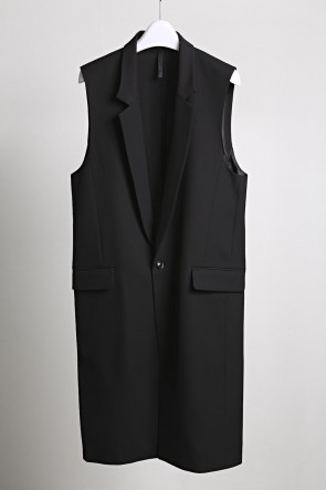 GalaabenD 20SS Dry Georgette Stretch Long Vest