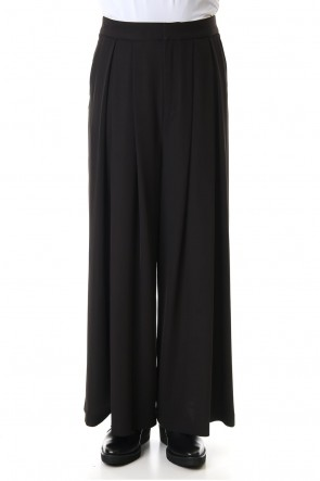GalaabenD 20SS Dry Georgette Stretch Tuck Wide Pants