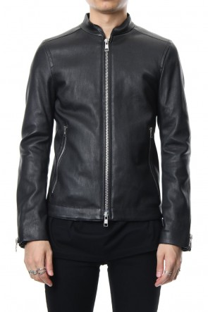 GalaabenD 18-19AW Bording Lamb Single Leather Jacket