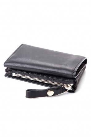 cornelian taurus Classic connect wallet mini - Glove Steer Leather Black