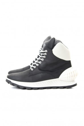 MIHARAYASUHIRO 19-20AW ECCO SHOES COLLABORATION SNEAKER BOOTS Black White
