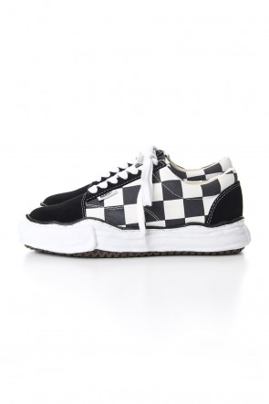 MIHARAYASUHIRO 19-20AW BIG GINGHAM LOWCUT SNEAKERS Black