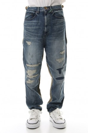 MIHARAYASUHIRO 19-20AW Docking military Denim pants