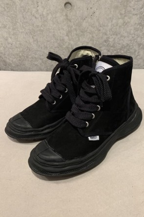 MIHARAYASUHIRO 20SS Original sole Military boots in leather Black