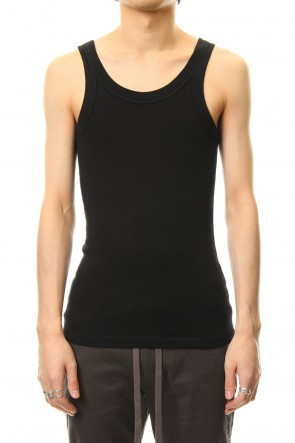 ATTACHMENT 19SS High tension milling tank top Black