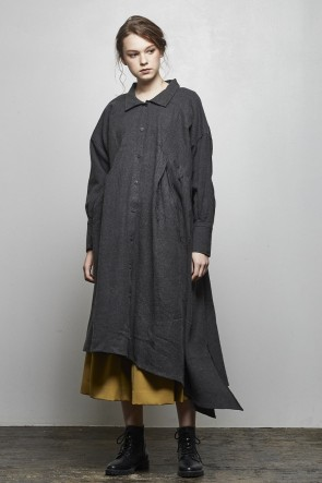 AF ARTEFACT 18-19AW Asymmetric Long Dress - AL-1660