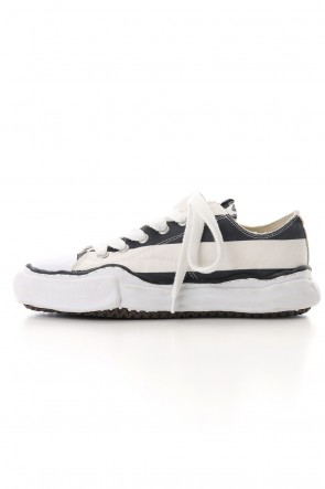 MIHARAYASUHIRO 19-20AW Original sole Stars and Stripes Low cut sneaker Black / White