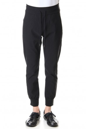 ATTACHMENT 20SS Vi / Ny high power stretch cloth Jogger pants Black