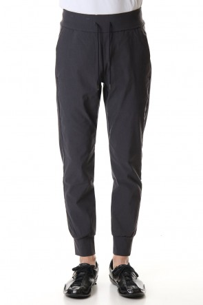 ATTACHMENT 20SS Vi / Ny high power stretch cloth Jogger pants D.Gray
