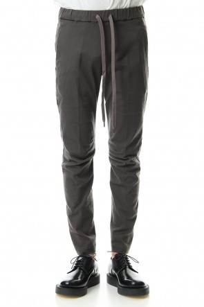 ATTACHMENT19-20AWHigh power stretch twill biker easy pants KhakiGray