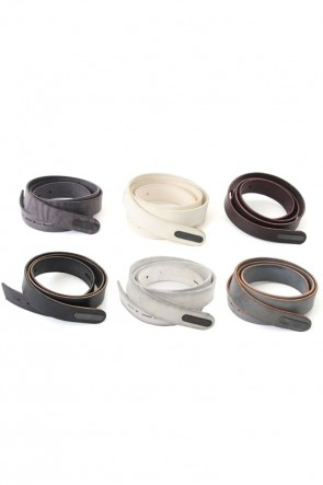 DEVOA 18-19AW Cow Leather Belt
