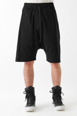 "by H New York 17SS 17SS ""EZ-II"" dropcrotch paneled shorts"
