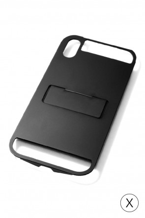 CLAUSTRUM Classic iPhoneX FLAP X METAL - BLACK MATTE