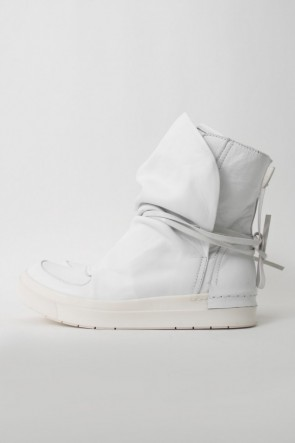 CINZIA ARAIA BASIC CINZIA ARAIA  SANTIAGO Layered High Cut Sneakers WHITE